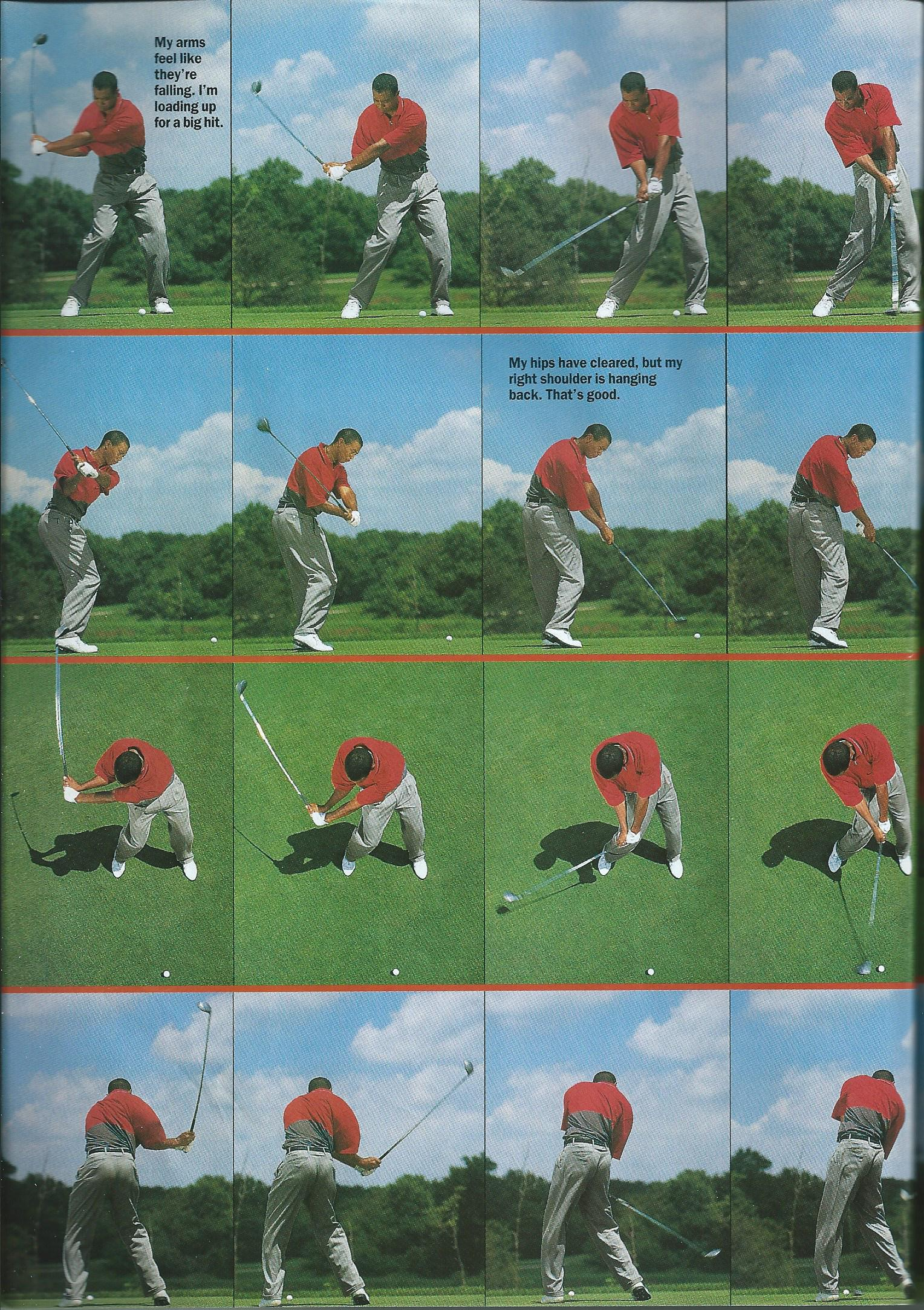 pixels  free images for your tablet devices  Tiger Woods Golf Swing    Tiger Woods Swing Sequence